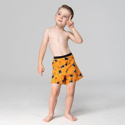 DADADO-熊厲害 140-160男童內褲(黃) 品牌推薦-舒適寬鬆