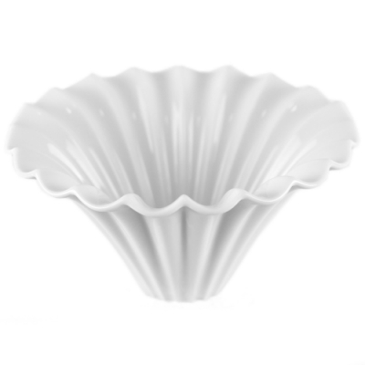 KOYO美濃燒摺摺花瓣陶瓷濾杯02-三色可選