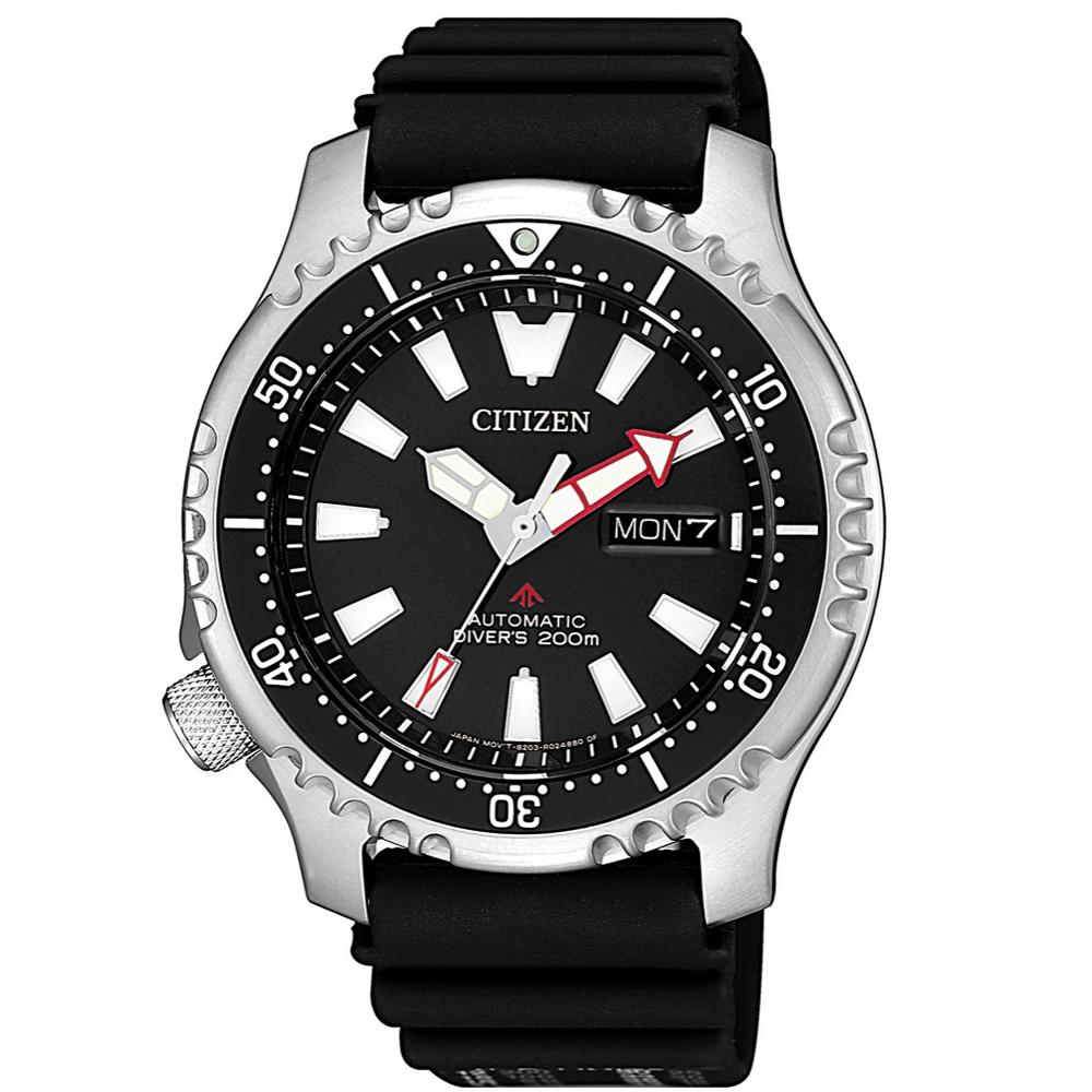 CITIZEN PROMASTER海洋奇蹟200米機械橡膠腕錶/NY0080-12E @ Y!購物