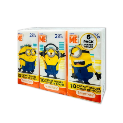 Minions 超可愛兵兵 紙手帕6包 (10張/包)