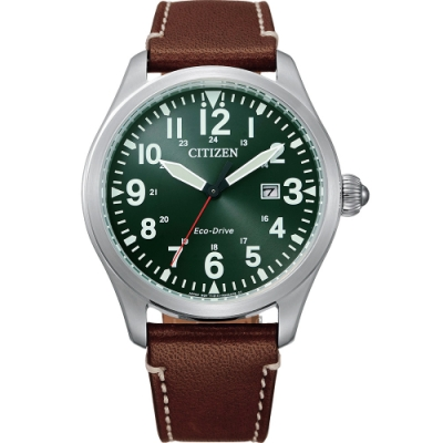 CITIZEN 星辰 光動能飛行家手錶-42mm(BM6838-25X)