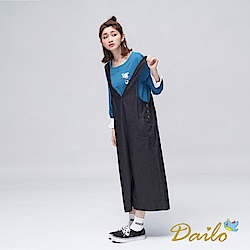 Dailo INLook太空人條紋配色上衣