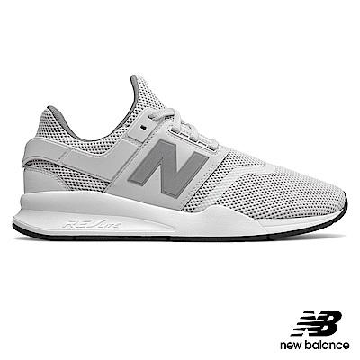 New Balance 復古鞋_MS247FE_中性_牙白