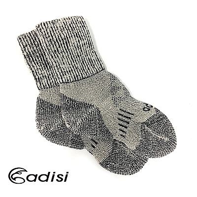 ADISI 美麗諾羊毛保暖襪AS15218【黑色】
