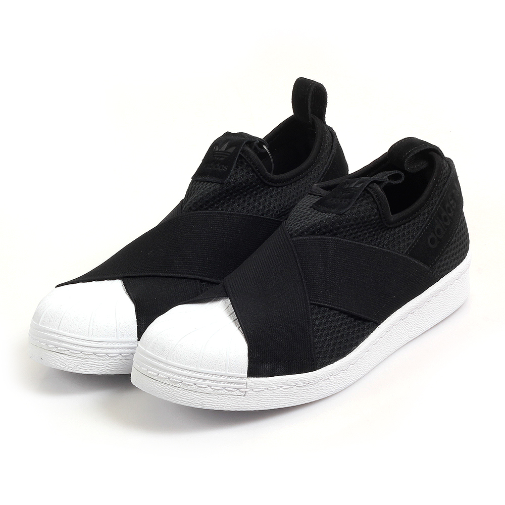 ADIDAS SUPERSTAR SLIP ON W-女 B37193