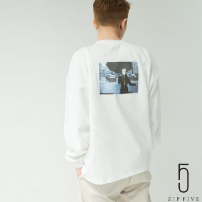 ZIP日本男裝 Nilway -ERROR- 背後印刷長袖TEE (8色)