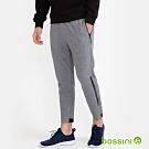 bossini男裝-針織束口長褲02麻灰