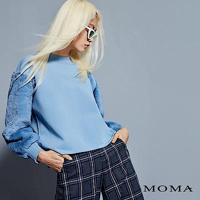 MOMA 素色毛袖衛衣