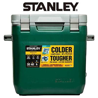 美國Stanley 可提式Cooler冰桶28.3L 綠色