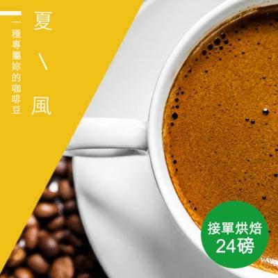 【精品級金杯咖啡豆】接單烘焙_夏風咖啡豆(整箱出貨-24磅/箱)