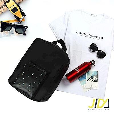 【暢貨出清】JIDA 時尚輕旅行全方位可後背式行李袋/拉桿收納包(4色)