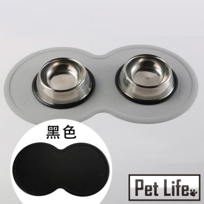 Pet Life 貓狗寵物專用防滑防水進食矽膠餐墊