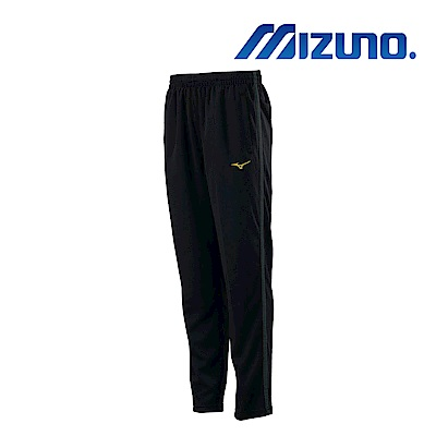 MIZUNO 少年針織運動長褲 黑X麻花黑 32TD913299