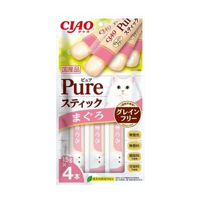【6入組】日本CIAO PURE寒天肉泥(4種口味) 15g*4入