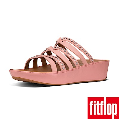 FitFlop LINNY SLIDE SANDALS - CRYSTAL 灰粉