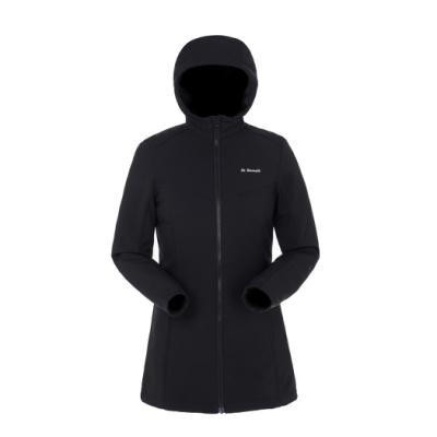 【St. Bonalt 聖伯納】戶外機能防風中長版單層衝鋒衣│女款-8164