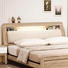 H&D 金美6.4尺床頭箱
