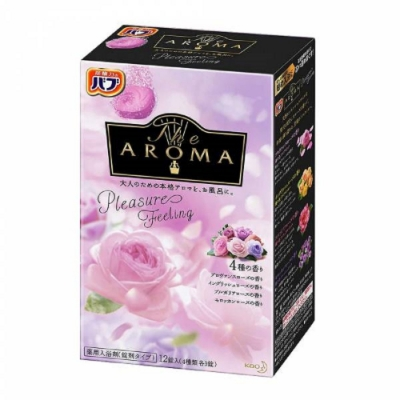 日本品牌 花王KAO AROMA四合一碳酸入浴劑-Pleasure Feeling
