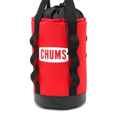 CHUMS Logo Vertical Tool Case收納袋 紅色-CH603047R001