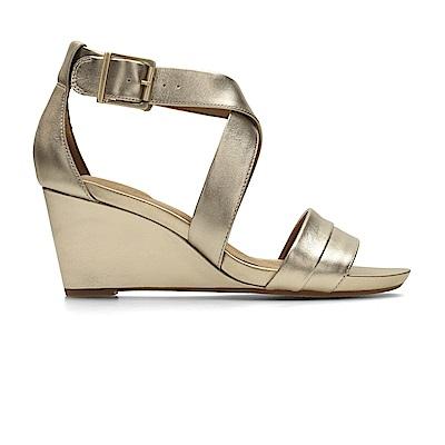 Clarks Acina Newport 女 涼鞋 金
