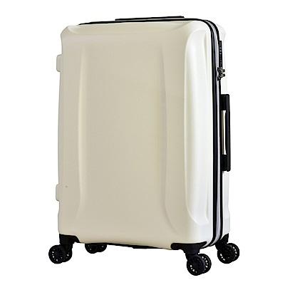 日本 LEGEND WALKER  5201 - 58 - 24 吋 超輕量行李箱 雪貂白