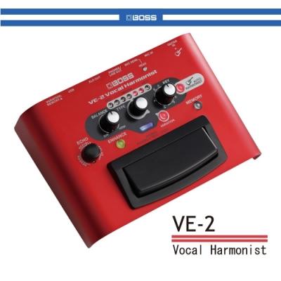 BOSS VE-2 人聲合音效果器/贈導線/公司貨保固