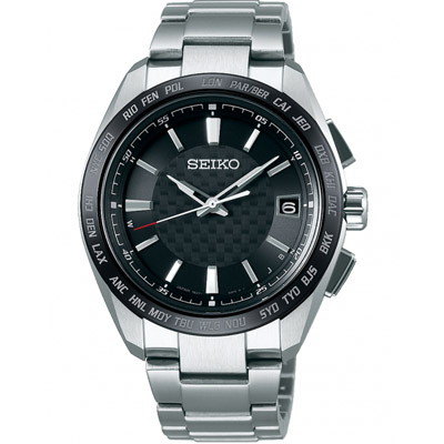 SEIKO BRIGHTZ 鈦金屬太陽能電波腕錶(SAGZ091J)