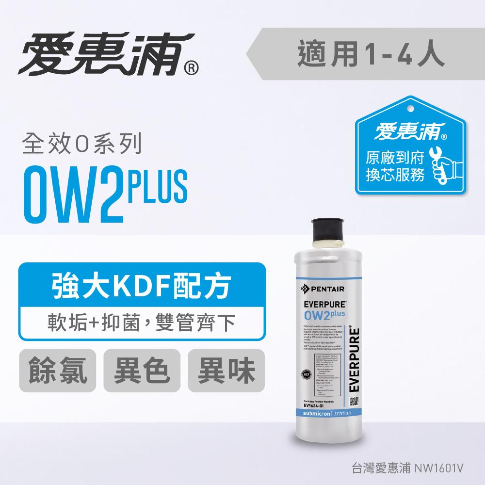 愛惠浦 到府安裝 全效系列濾芯 EVERPURE OW2PLUS