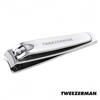 Tweezerman 不鏽鋼專業指甲剪管裝