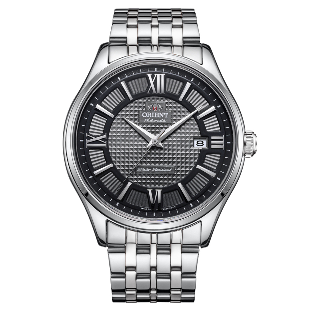 ORIENT   時尚風潮學者風範機械腕錶(SAC04003A0)-黑面x42mm