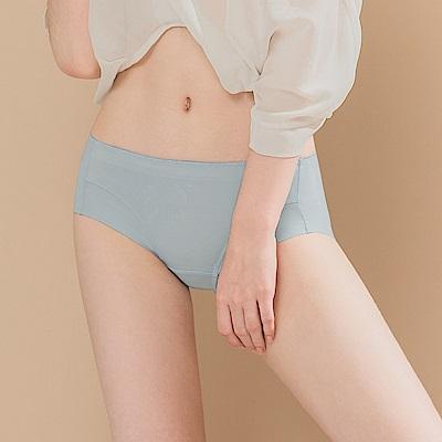 無痕透氣超健康竹炭包臀中腰M-XL內褲 冰霜皇后 可蘭霓Clany
