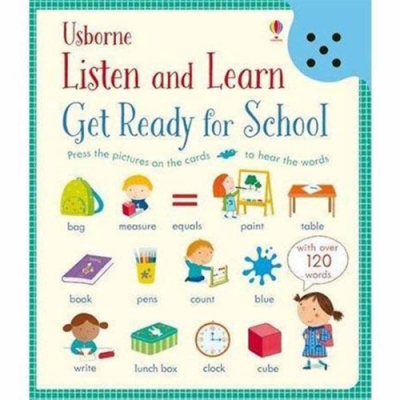 Listen And Learn Get Ready For School 準備上學去聽說學習本
