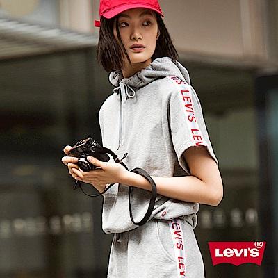 帽T 女裝 LOGO滾邊 - Levis