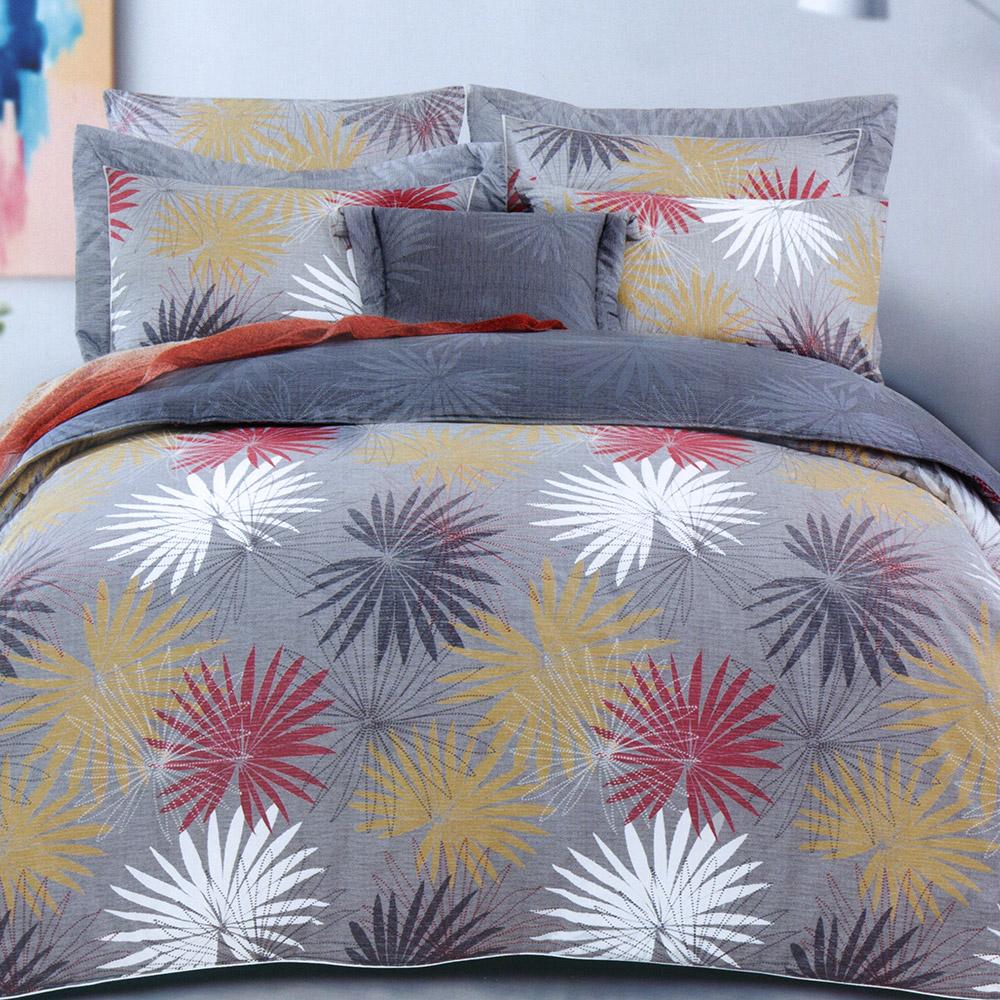 澳洲Simple Living 雙人長纖細棉兩用被床包組-璀璨時光(台灣製)