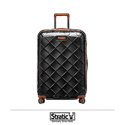 德國 Stratic 雙齒防盜防爆拉鍊行李箱 29吋 黑色