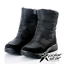 PolarStar 男保暖雪鞋『黑』P18629 冰爪 / 內厚鋪毛 /防滑鞋底