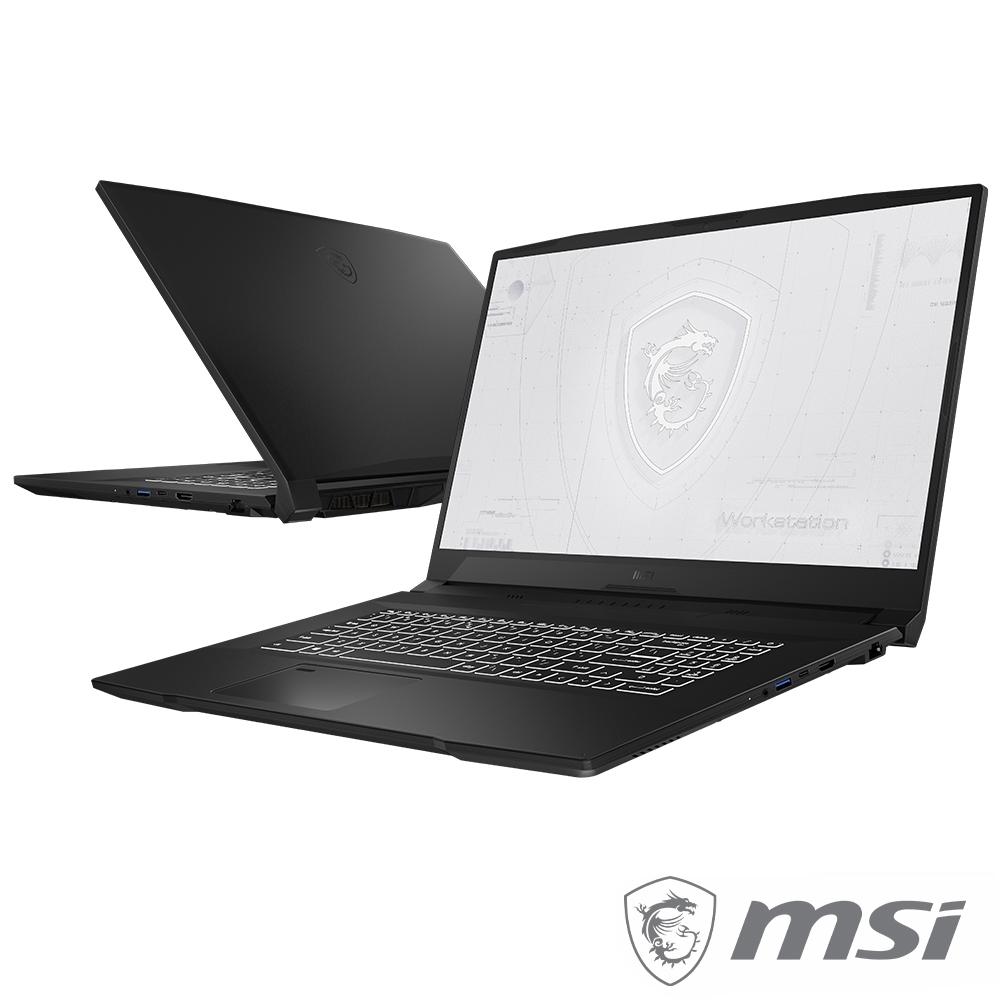 MSI微星 WF76 11UJ-267TW 15吋繪圖工作站筆電(i7-11800H/16G/A2000-4G/1T SSD/Win10Pro)