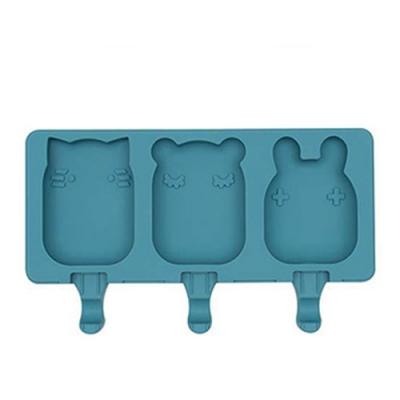 澳洲We Might Be Tiny 矽膠動物冰棒盒-孔雀藍