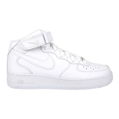 NIKE AIR FORCE 1 MID 07 男休閒鞋-高筒 鞋 經典 CW2289111 白