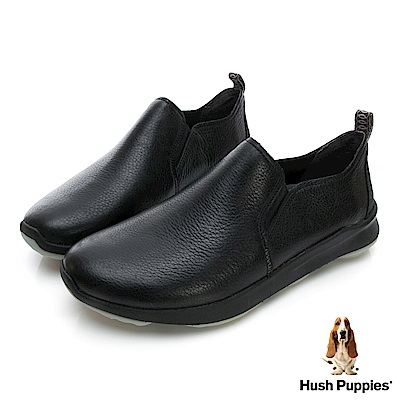 Hush Puppies Bounce Max 高效彈力休閒男便鞋-幻黑