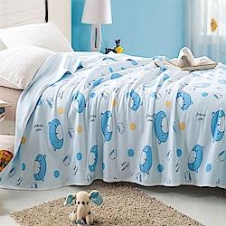Betrise 寶貝熊-100%天竺棉針織舒適涼被(150*200cm)