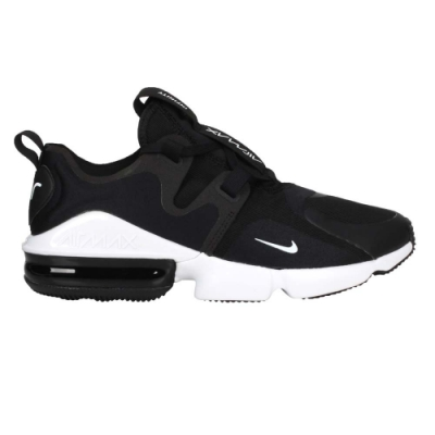 NIKE AIR MAX INFINITY 男休閒鞋-慢跑 氣墊 BQ3999003 黑白