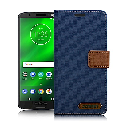 Xmart For MOTO G6 Plus/G6+ 度假浪漫風皮套