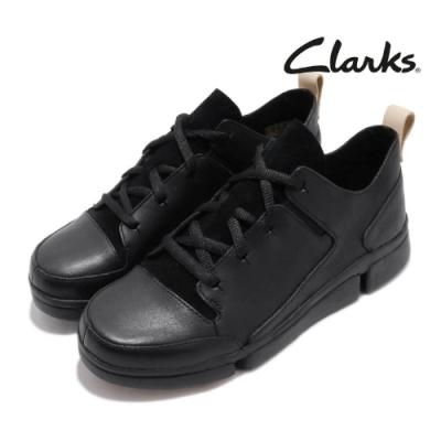 Clarks 休閒鞋 Tri Turn 三瓣底 真皮 女鞋
