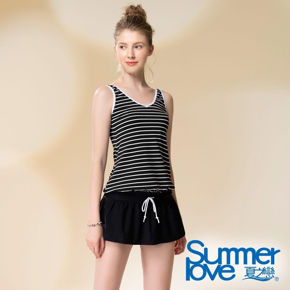 夏之戀SUMMERLOVE 連身裙二件式泳衣