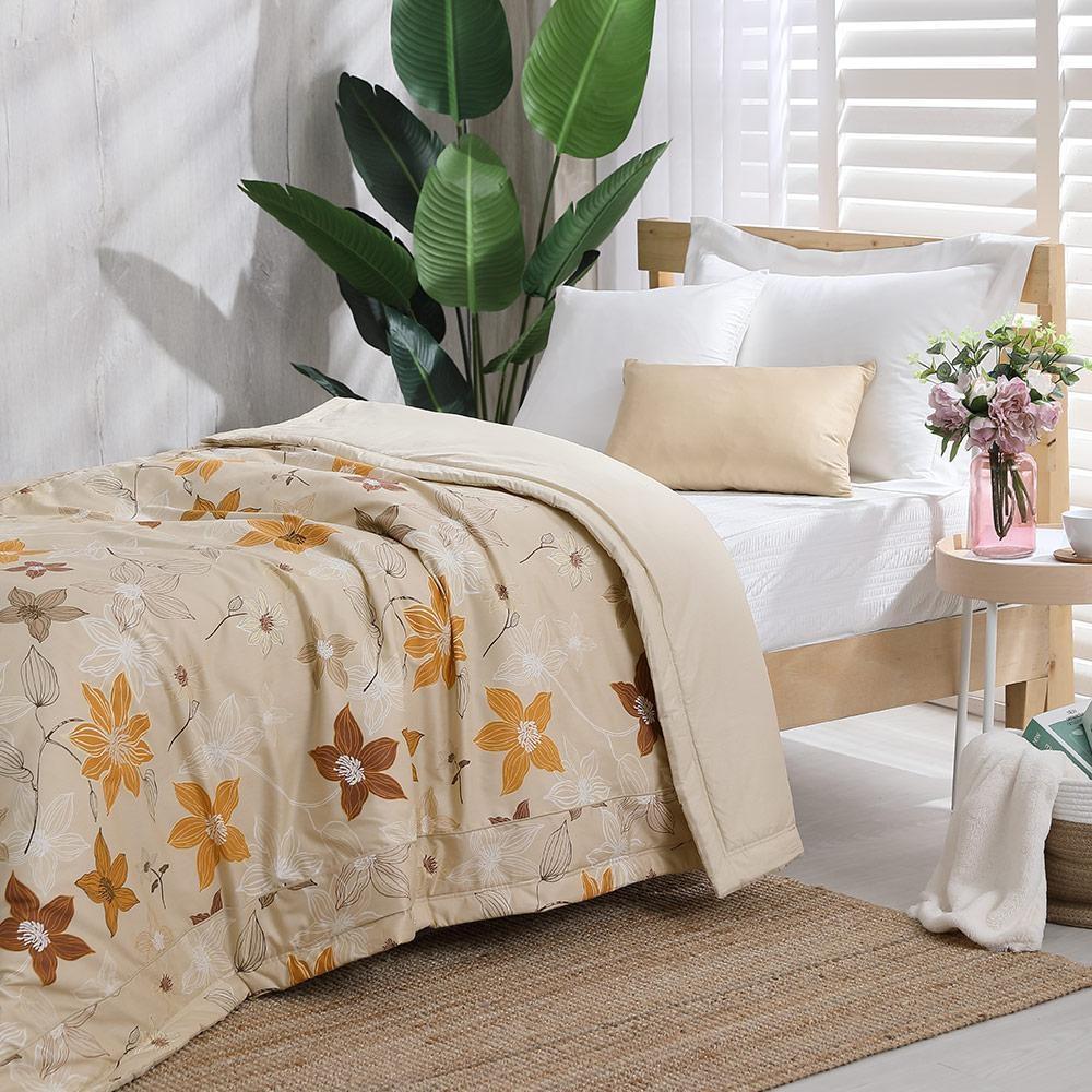 LAMINA 精梳棉涼被4.5X6.5尺-花之藝(米)