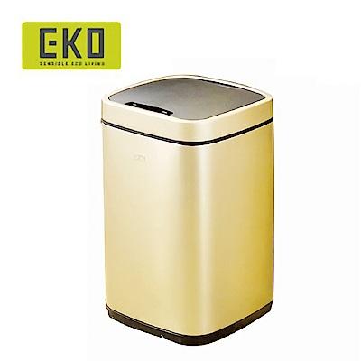 EKO 臻美自動感應不鏽鋼垃圾桶9L