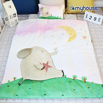 【BabyTiger虎兒寶】Myhouse  韓國防蟎兒童睡袋 - 象寶寶