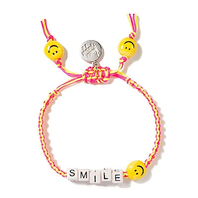 Venessa Arizaga HAPPY SMILE 黃色x粉色手鍊