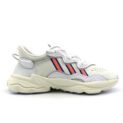 ADIDAS OZWEEGO 女 休閒鞋 白藍反光-EF4290